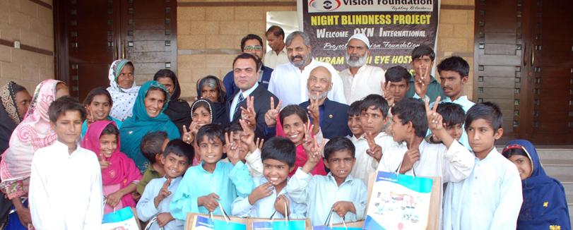 Night Blindness in Pakistan