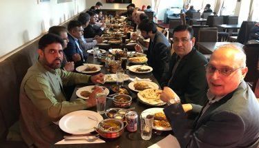 سفارت خانہِ پاکستان کی جانب سے عید کے سلسلے میں عشائیہ