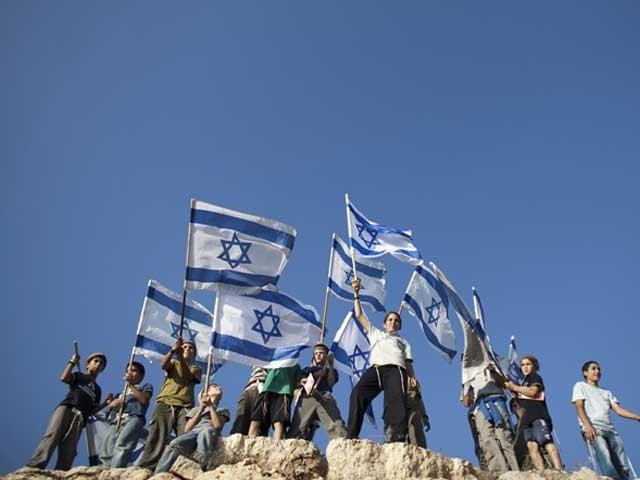 سرکاری زبان عربی کے درجے کو گھٹاتے ہوئے یہودی آبادکاری کو قومی مفاد قرار دیا گیا ہے فوٹو:فائل