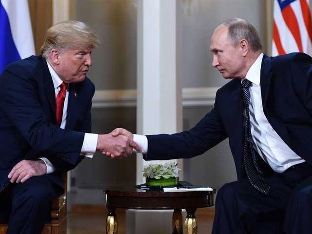 روسی صدرپیوٹن سے دوسری ملاقات کا منتظرہوں، ٹرمپ: فوٹو: فائل