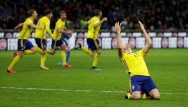 سویڈن ورلڈ کپ فٹ بال ٢٠١٨ کے کوارٹر فائنل میں