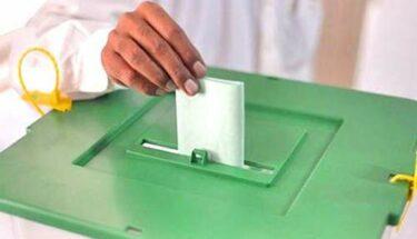 ٢٥ جولائی٢٠١٨ کو عام انتخابات میں ووٹ ڈالنے کی تیاری