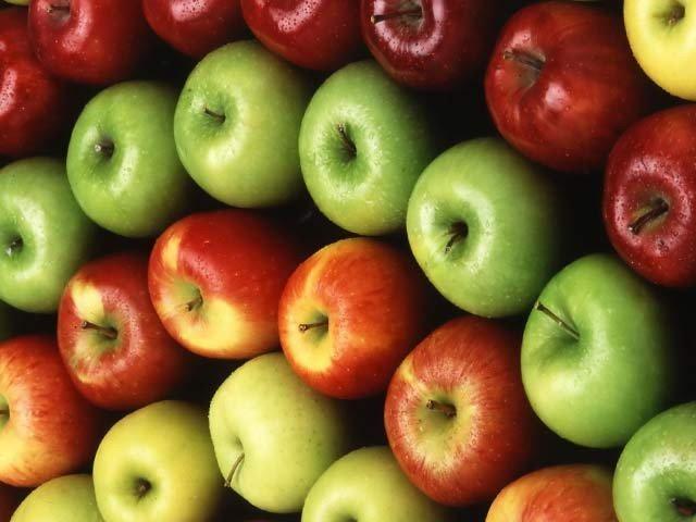 سیب میں موجود ایک خاص سینولائٹک مرکب عمر رسیدگی کو روکتا ہے (فوٹو: فائل)